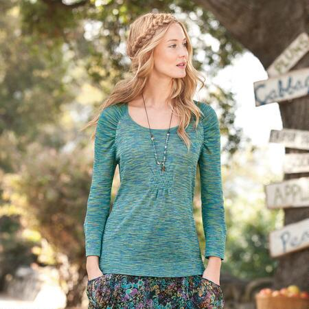 EMILY RUCHED SWEATER