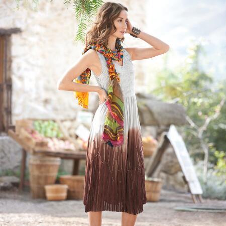 MOJAVE DIP-DYE DRESS