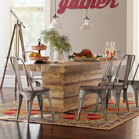 WHISKEYTOWN PLANK DINING TABLE