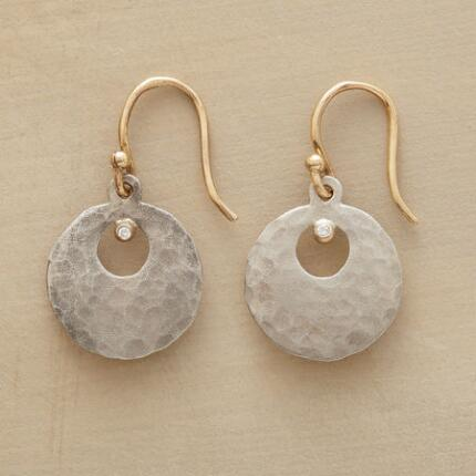DIAMOND IN THE MOON EARRINGS