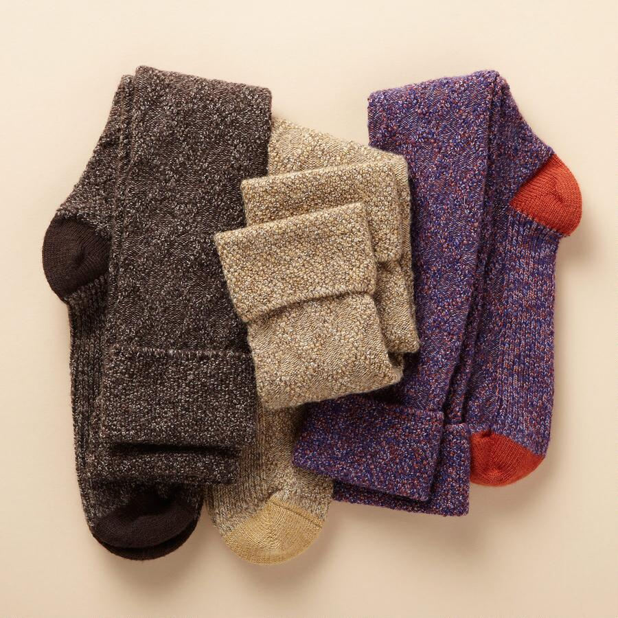 HIGHLANDER SOCKS, SET OF 3