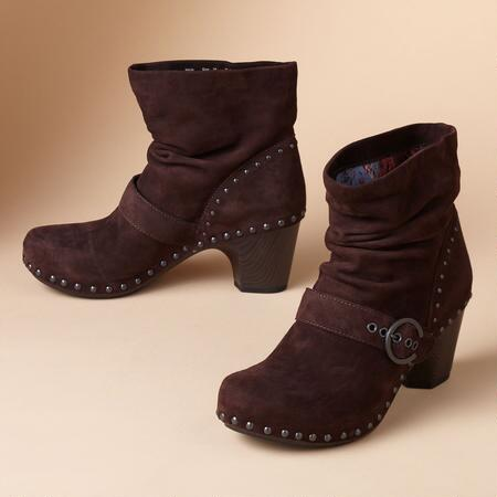 NIKITA SUEDE CLOG BOOTS