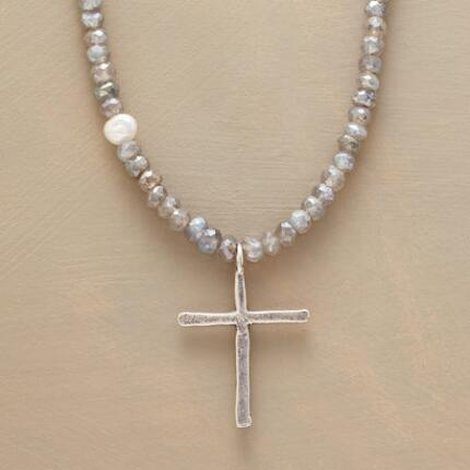 AVALON CROSS NECKLACE