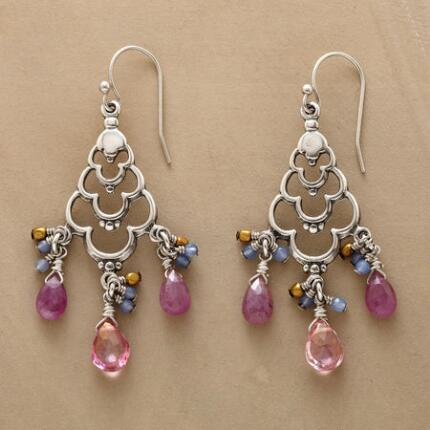 LOTUS CHANDELIER EARRINGS