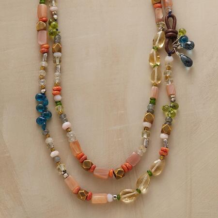 ROPE OF MANY COLORS NECKLACE