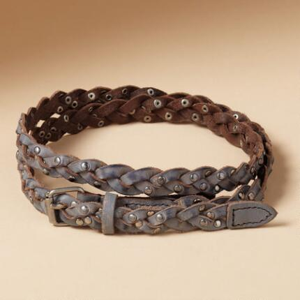 BEADED BRAID BELT