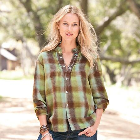 RUSTIC FLANNEL SHIRT
