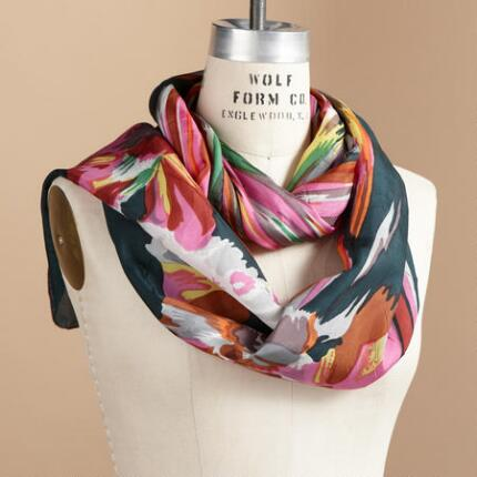 SPLASH OF STRIPES SCARF