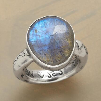 Look deep into this Jes MaHarry prophecy ring and you never know what you might see.