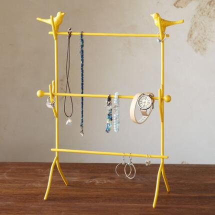 BIRD SENTRY JEWELRY STAND