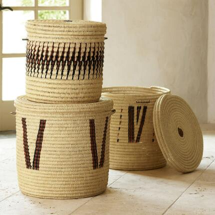 TURKANA BASKETS, SET OF 3