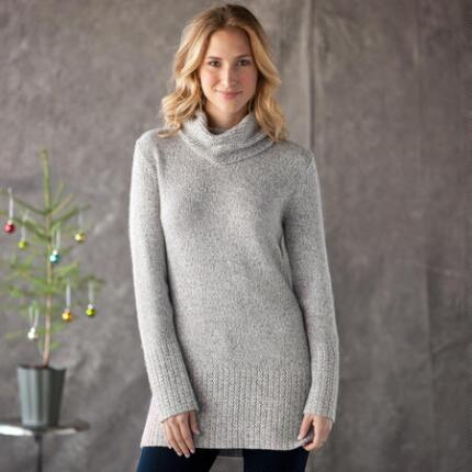 KNIT TO PERFECTION TUNIC