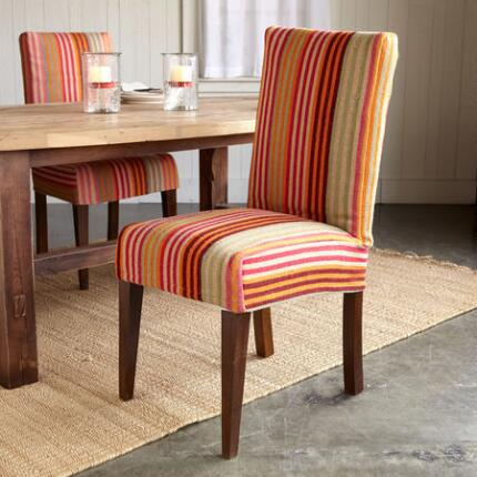 STREAMLINE STRIPE DINING CHAIR