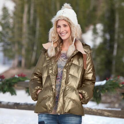 BRONZED BEAUTY DOWN JACKET