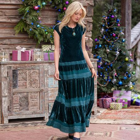 WINE COUNTRY MAXI DRESS