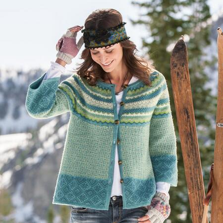 FOREVER FOLKLORIC EASY CARDIGAN