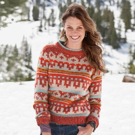 LAZY DAY MOUNTAIN CHIC PULLOVER