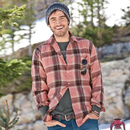 THE CRUSHER PLAID SHIRT