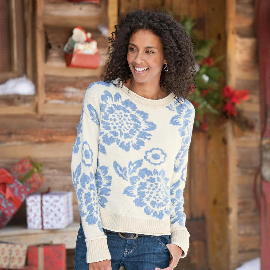 PEONIES PULLOVER