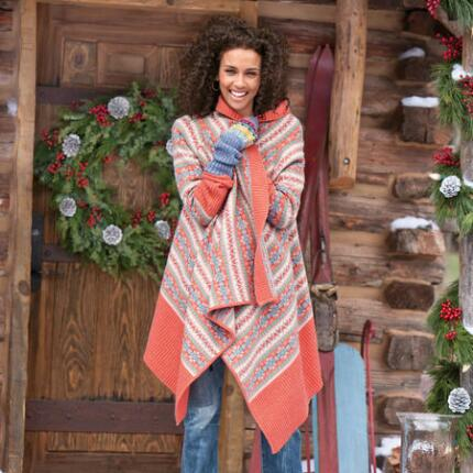 WINTER ESSENTIAL DRAPE CARDIGAN PETITE