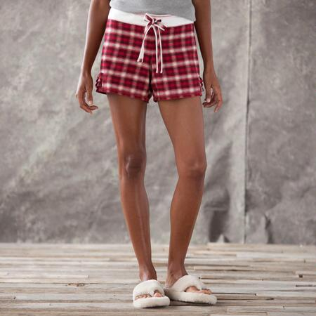 FLANNEL PJ SHORT