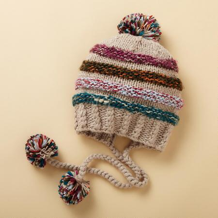 SLOUCH POMPOM CAP
