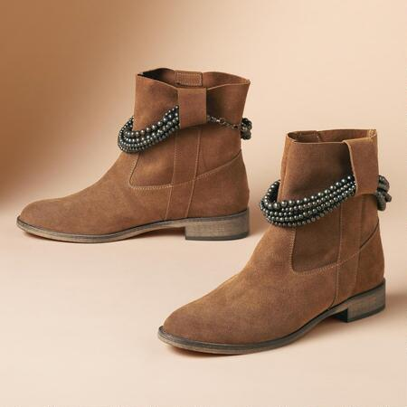 CARLY SUEDE SLOUCH BOOTS