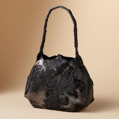 FLOURISHED BURNOUT BAG