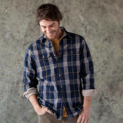 OXFORD PLAID REVERSIBLE SHIRT