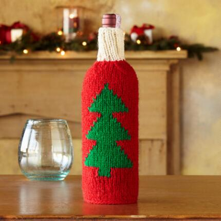 HANDKNIT HOLIDAY BOTTLE SWEATERS