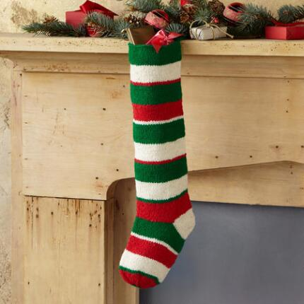 HORIZONTAL STRIPE STOCKING