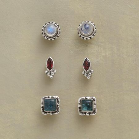 OLD GLORY EARRING TRIO