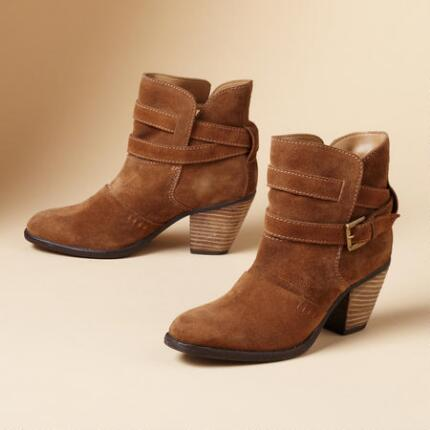 WRAPPED SUEDE BOOTS