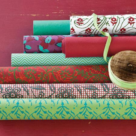 HANDMADE HOLIDAY GIFT WRAP(B) S/8