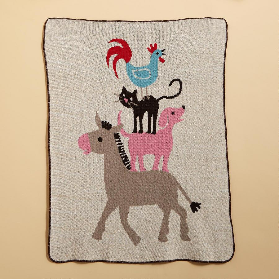 PEACEABLE KINGDOM BLANKET
