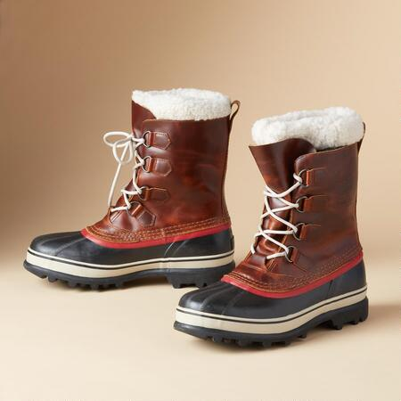 CARIBOU FLEECE-LINED BOOTS