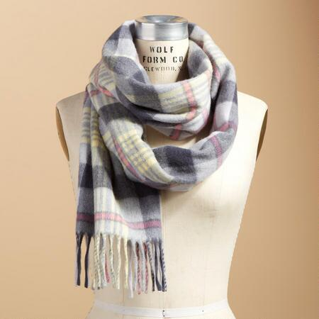 PALEST PLAID SCARF