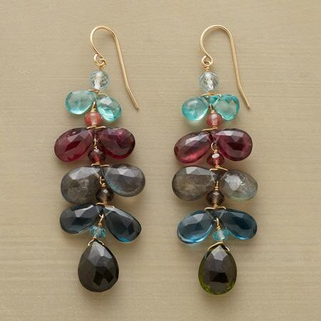 TWILIGHT PETALS EARRINGS
