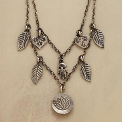 CHARMED LUCK NECKLACE