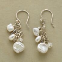 MODERN GIRL'S PEARL EARRINGS