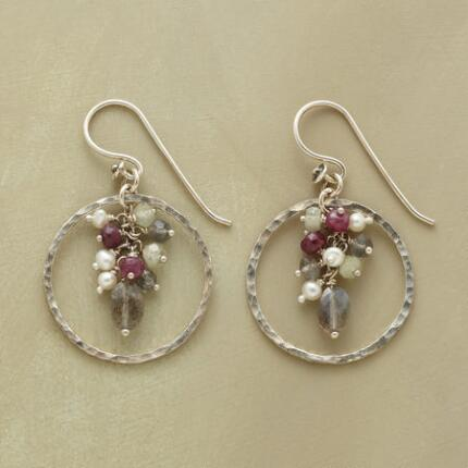 GEM BOUQUET EARRINGS
