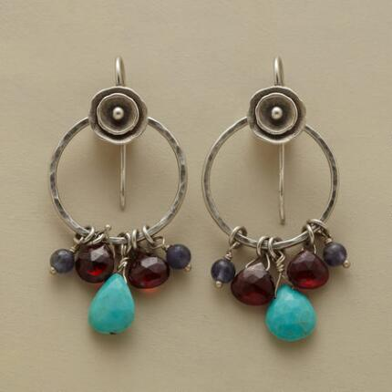 TIDEPOOL HOOP EARRINGS