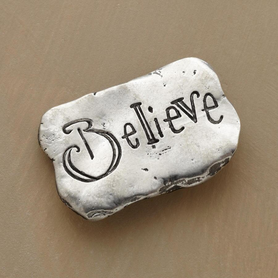 BELIEVE POCKET CHARM