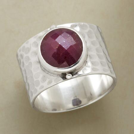 ROYAL RUBY SOLITAIRE RING