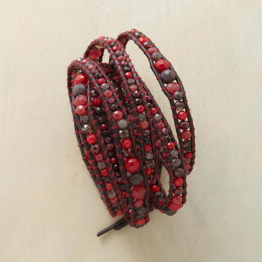 BURNING EMBERS 5 WRAP BRACELET