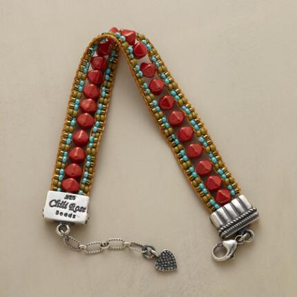 RED RIVER BEADED BRACELET