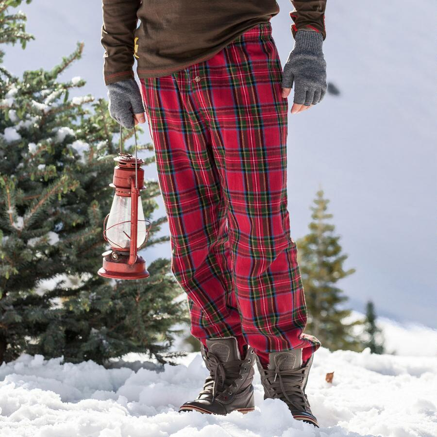 EMANCIPATION FLANNEL PANTS