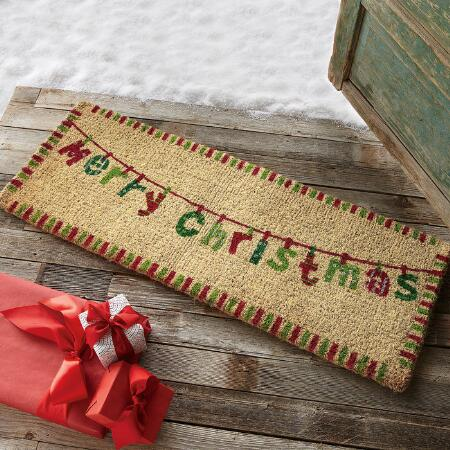 DOUBLE DOOR HOLIDAY MAT