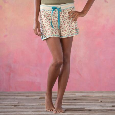 KNIT PJ SHORTS