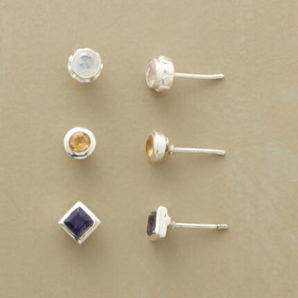 LES VACANCES EARRING TRIO, SET OF 3